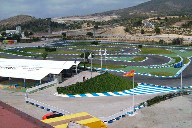 Karting CrazyNight Benidorm 2