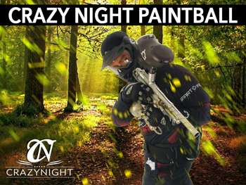 Paintball CrazyNight Benidorm 1